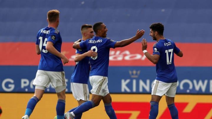 Leicester City vient de terminer au cinquième rang de la Premier League.
