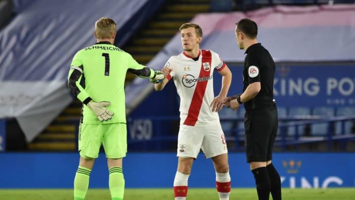 Captain's handshake
