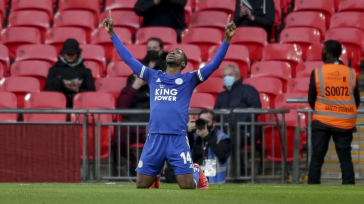 Kelechi Iheanacho has led Leicester's charge to the FA Cup final