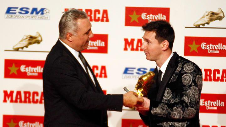 Hristo Stoichkov, Lionel Messi