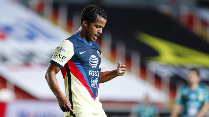 El paso de Giovani Dos Santos por América ha sido un total desastre y sus números lo reflejan.