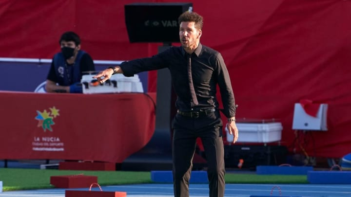 Simeone's men notched their third win in four games last time out at Levante
