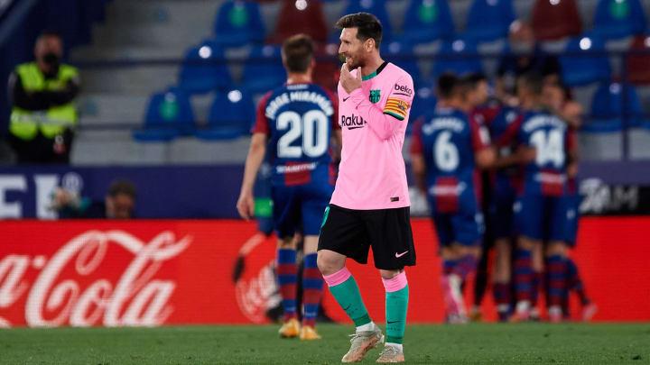 Le Barça semble avoir dit adieu au titre en Liga avec son nul à Levante