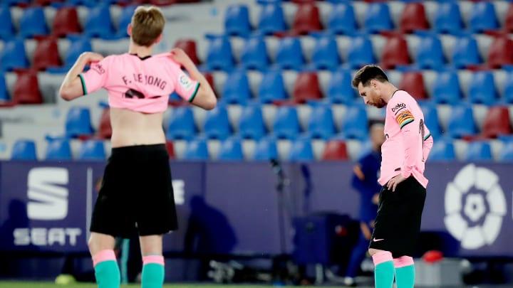 El Barça se deja dos puntos ante el Levante