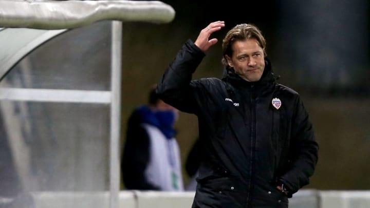 L'entraîneur du Liechtenstein, sans doute parfois à la porte de la dépression