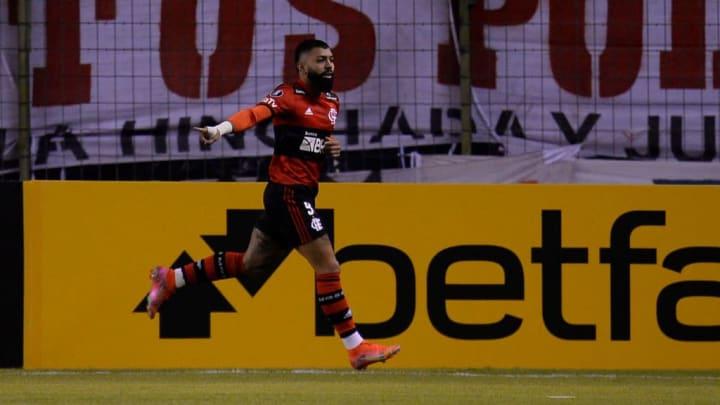 Gabriel Barbosa Flamengo Libertadores La Calera