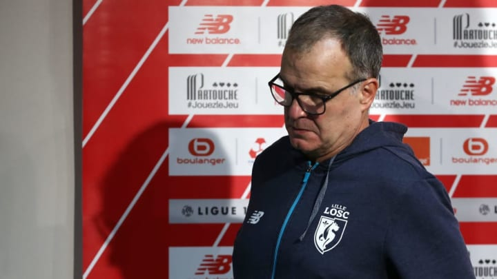 Bielsa left Lille after just 7 months at the club