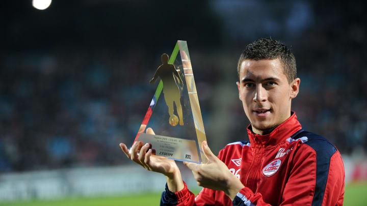Lille's Belgian midfielder Eden Hazard p