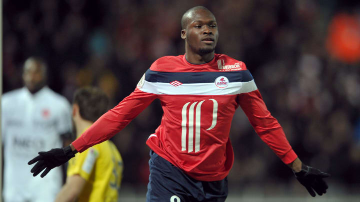 Lille's Senegalese forward Moussa Sow ce