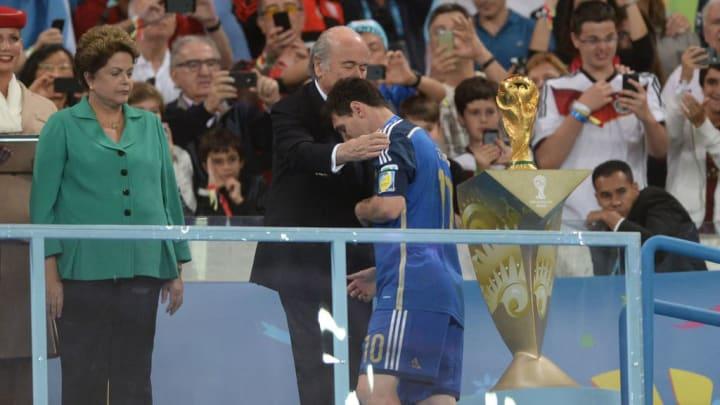 Lionel Messi, Joseph S. Blatter