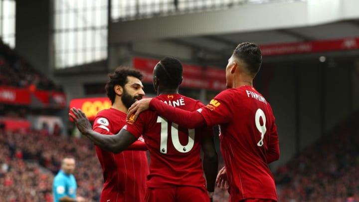 Sadio Mane, Mohamed Salah, Roberto Firmino