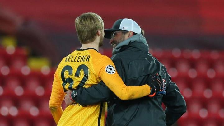 Kelleher telling Klopp to stick him up front next week...