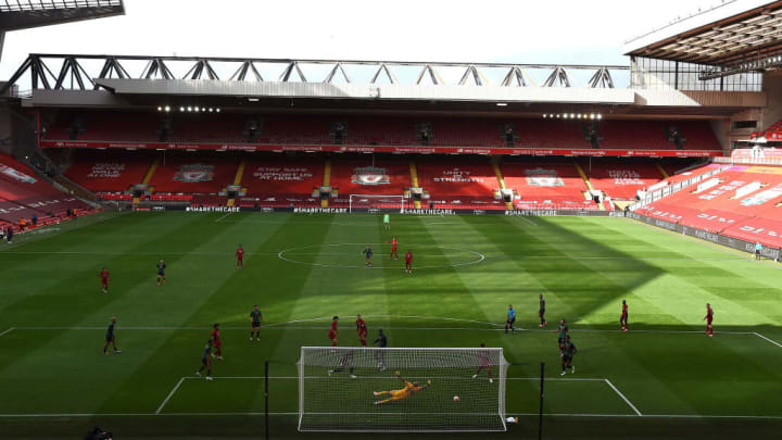 Anfield will host the league leaders