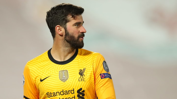 Alisson is in line to return for Liverpool after missing 3 games