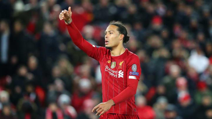 Van Dijk has enjoyed another monster campaign for Liverpool