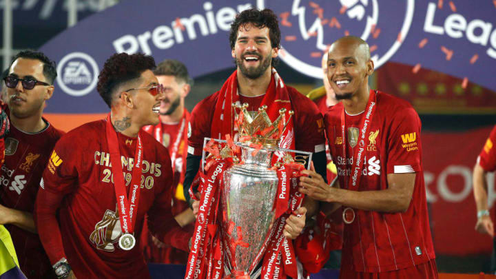 Roberto Firmino Alisson Becker Fabinho Liverpool