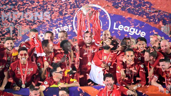 O Liverpool conquistou a Premier League pela primeira vez sob comando de Klopp.