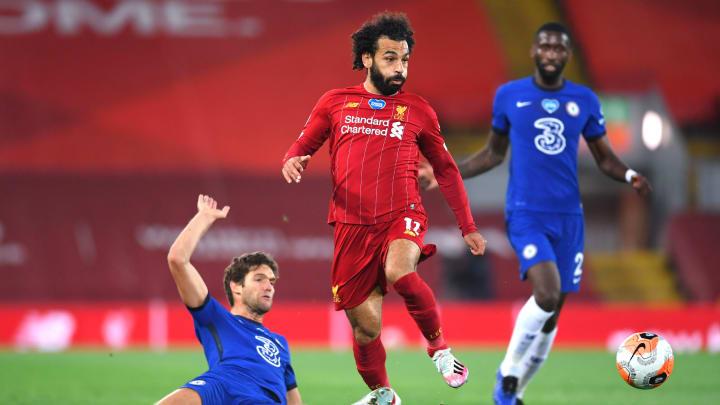 Mohamed Salah, Marcos Alonso