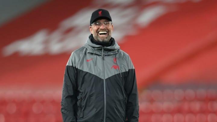 Klopp is still loving life at Anfield