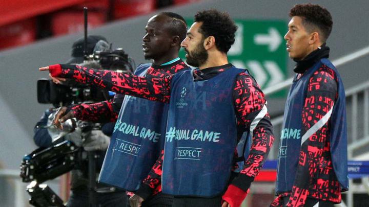 Sadio Mane, Mohammed Salah, Roberto Firmino
