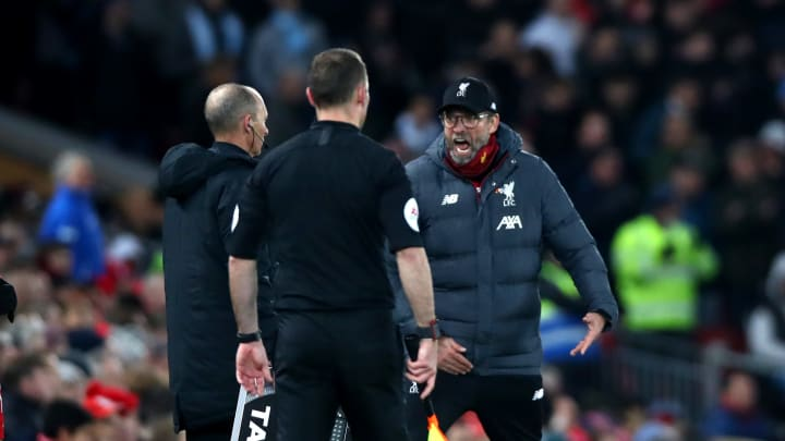 Jurgen Klopp has been vocal on his belief Manchester United get more penalties