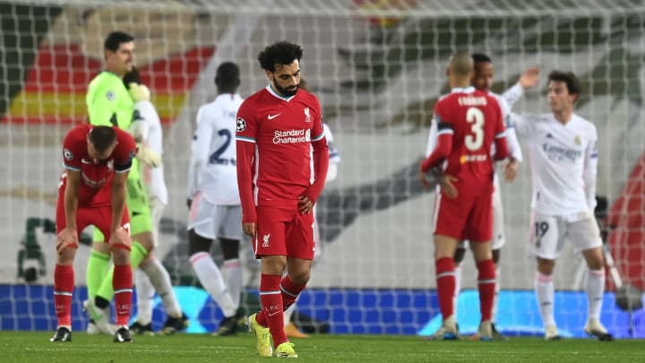 Liverpool are out of this season's Champions League