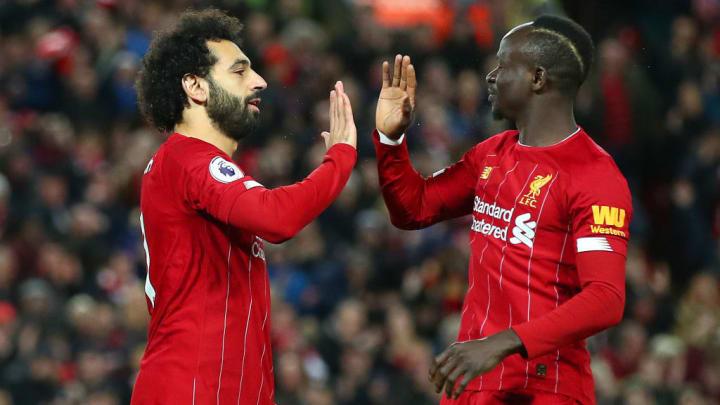 Le prolifique duo Salah-Mané.