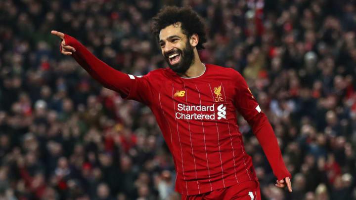 Mohamed Salah Liverpool Barcelona