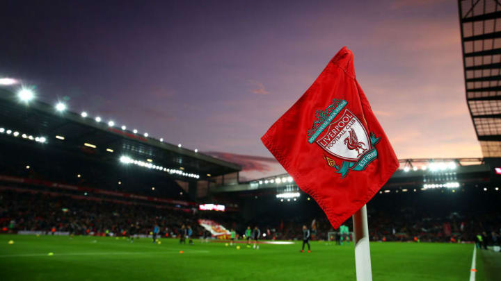 The fixture will take place under the lights at Anfield