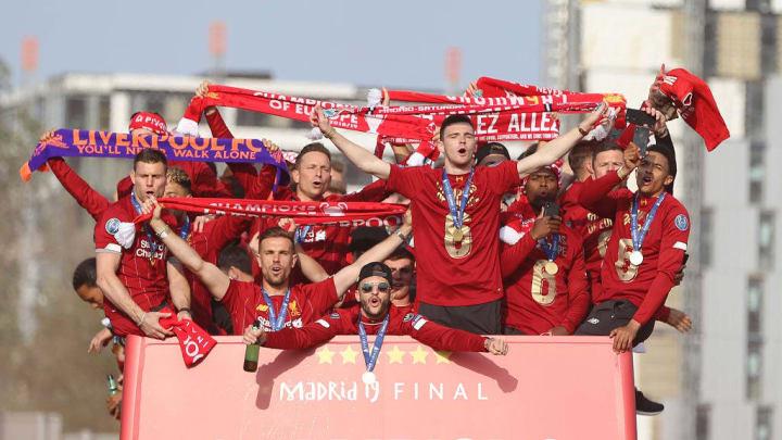 Liverpool đang là ĐKVĐ Champions League