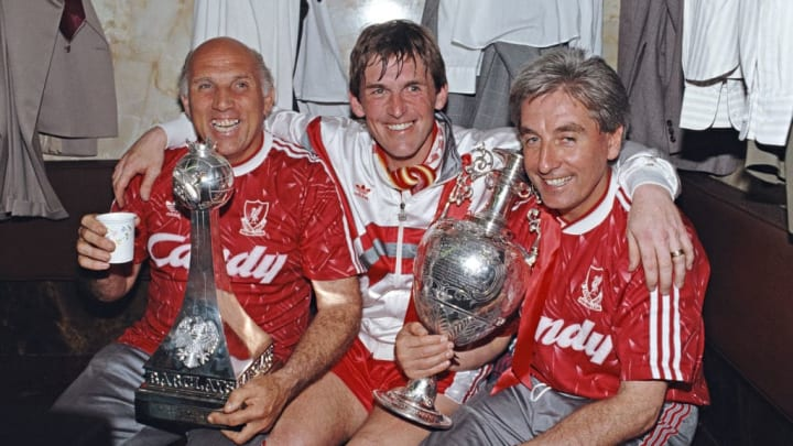 Kenny Dalglish, Ronnie Moran, Roy Evans