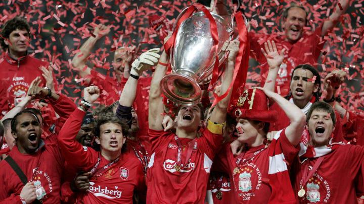 Liverpool v AC Milan Champions League Final 2005