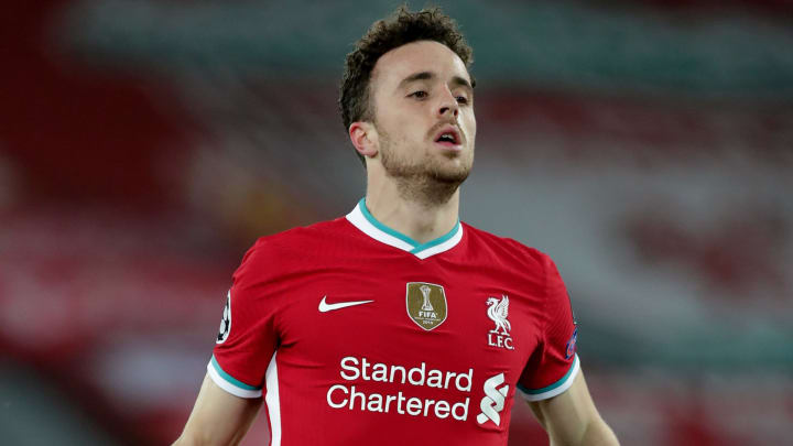 Liverpool forward Diogo Jota has suffered a knee injury