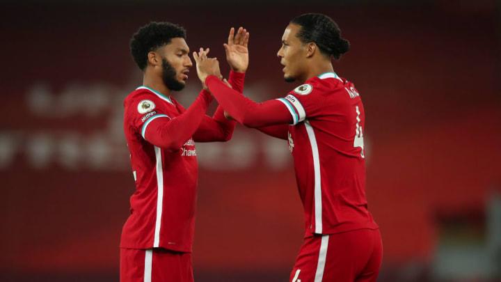 Inzwischen fehlen Liverpool sowohl Virgil van Dijk, als auch Joe Gomez