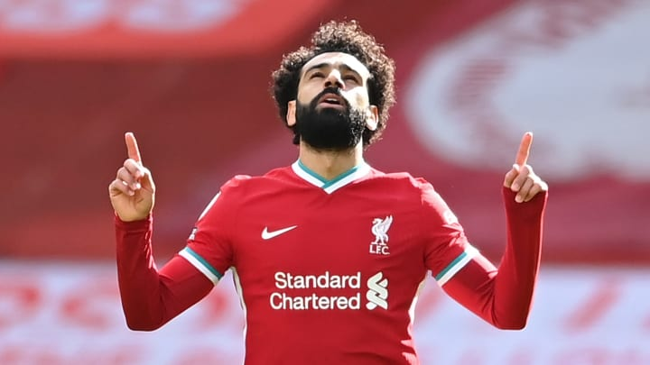 Mohamed Salah a inscrit son 19e but en Premier League contre Aston Villa.