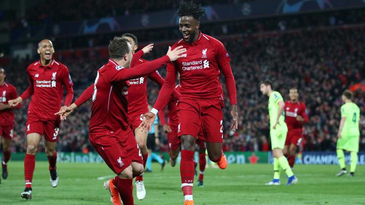 Divock Origi schoss den FC Liverpool 2019 gegen den FC Barcelona ins Finale - mit seinen ersten beiden Champions-League-Toren