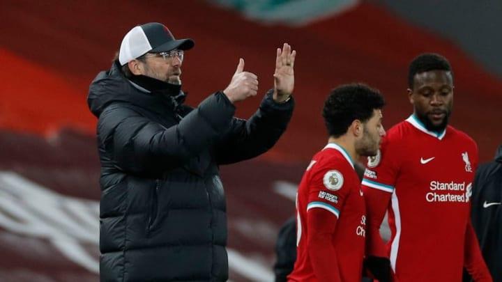 Jurgen Klopp's side have struggled with injuries this season