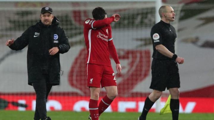 Auch Andrew Robertson zeigte sich nach der Niederlage enttäuscht