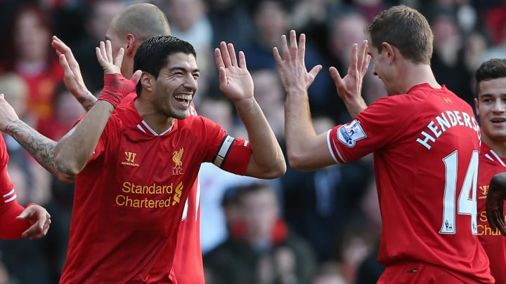 Luis Suarez was key to Liverpool scoring 48 goals away from home