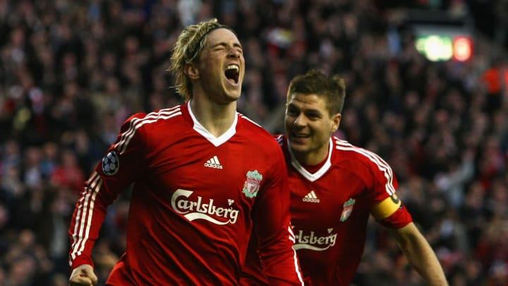 Fernando Torres, Steven Gerrard