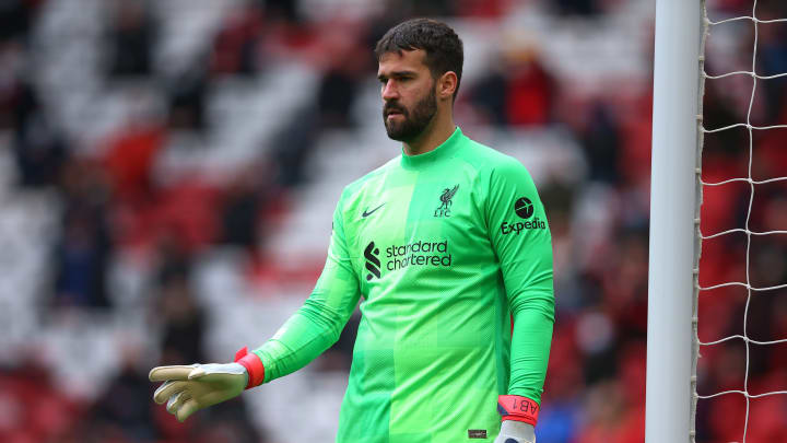 Alisson Becker is among the Player of the month nominees