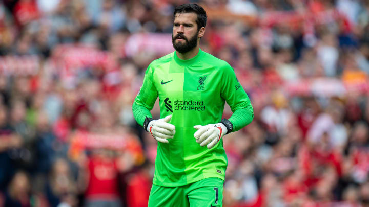 Alisson was blocked from travelling to Brazil