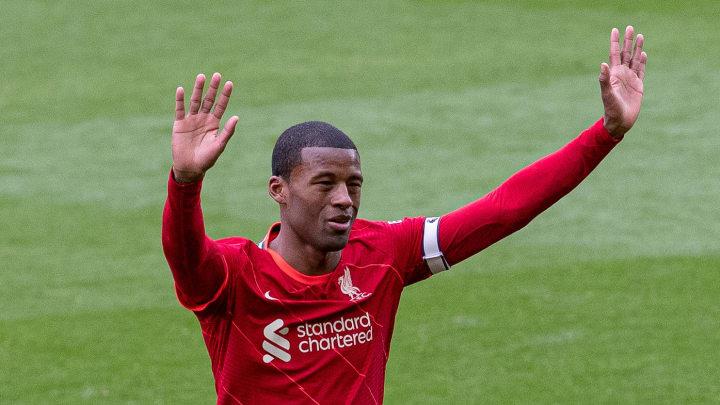 Georginio Wijnaldum has waved goodbye to Liverpool