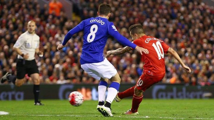 Coutinho vs Everton