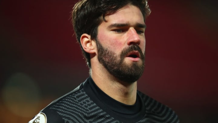 Alisson is expected to return for Liverpool following compassionate leave