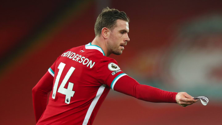 Jordan Henderson will be out until April
