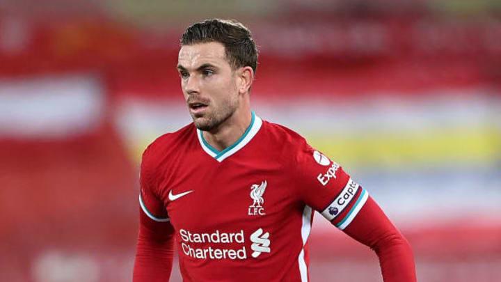 Jordan Henderson captained Liverpool to the Premier League title