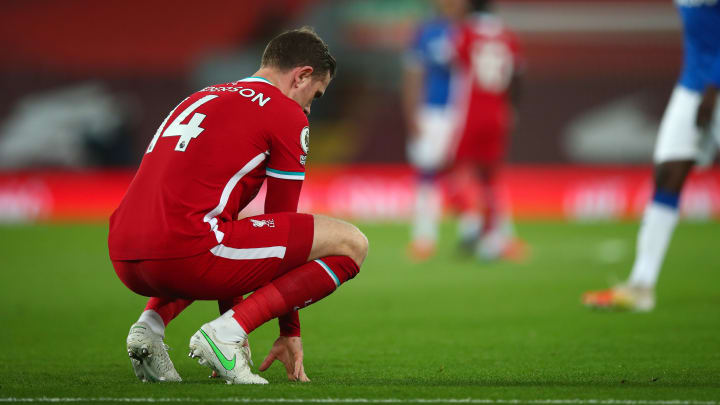 Jordan Henderson is recovering from a groin injury
