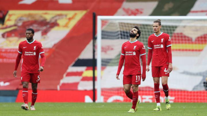 Mohamed Salah, Georginio Wijnaldum, Rhys Williams