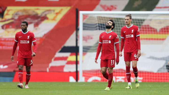 Liverpool have been badly affected without fans